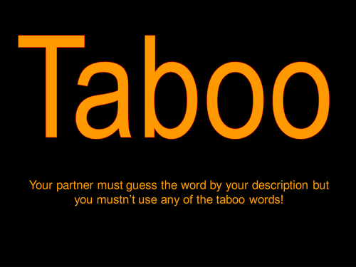 Hydrocarbons taboo