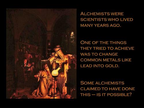 Alchemy Starter