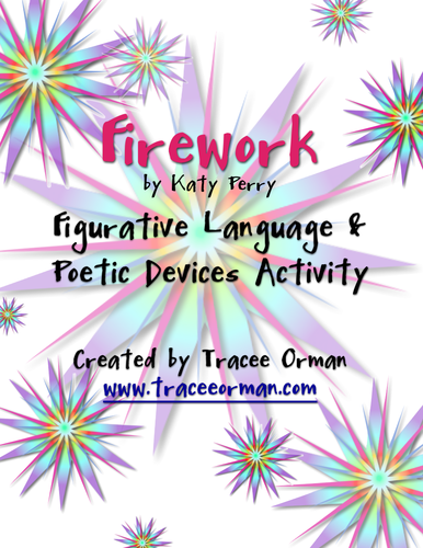 "Using ""Firework"" Song Lyrics to Analyze Figurative"