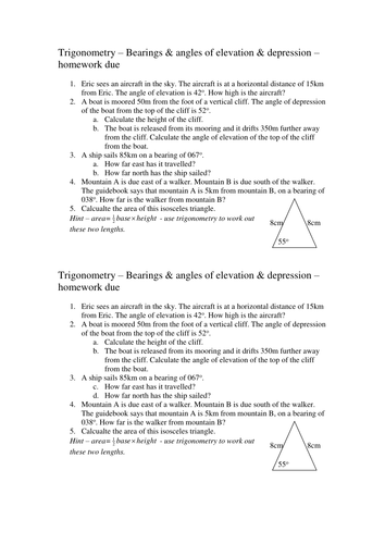 HW Trigonometry