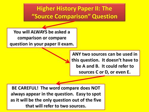 Source Comparison Skills
