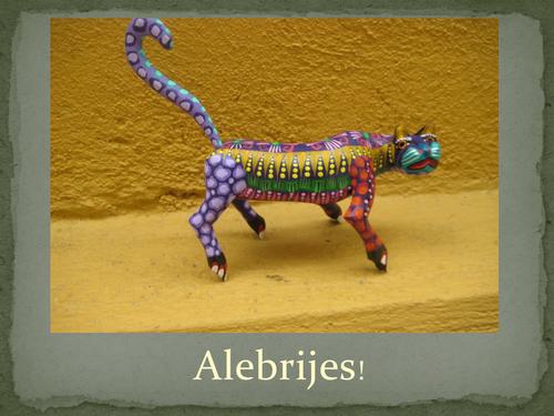 Alebrijes - Carved Wooden Animals