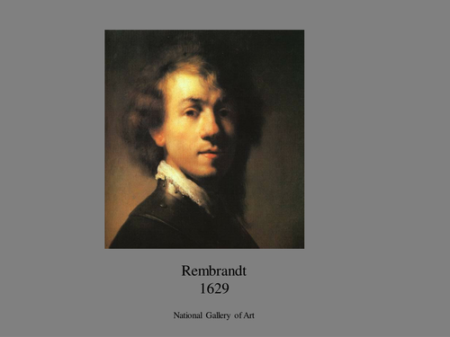 Portraits 1627-1997: examples of different styles