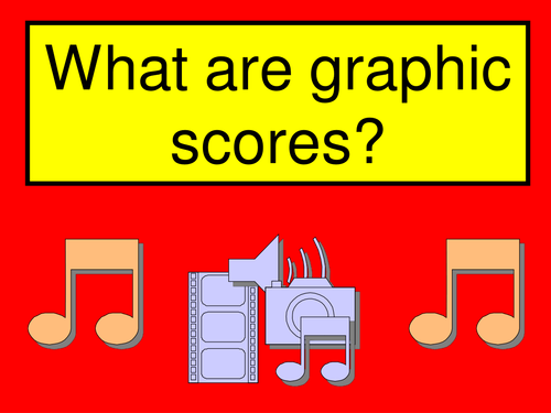 Creating a musical Graphic Scores