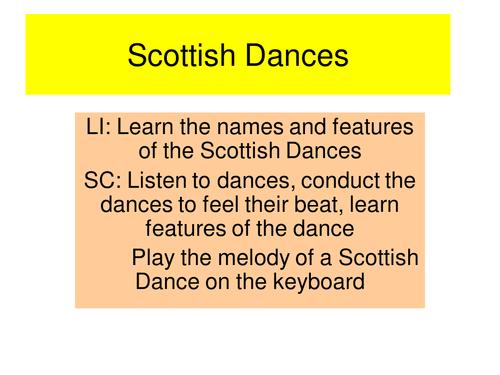 Scottish Dances