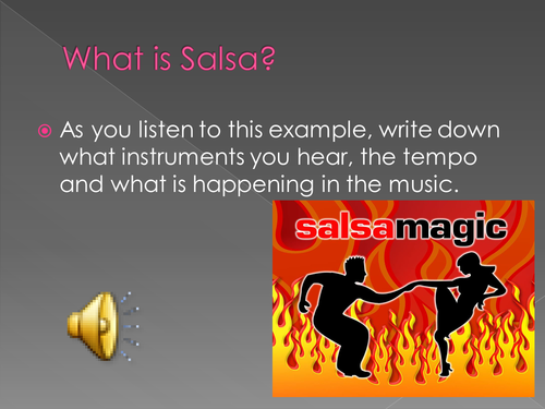 Characteristics of Salsa