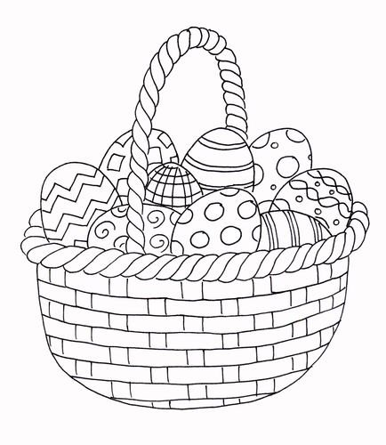 Easter - Coloring Page