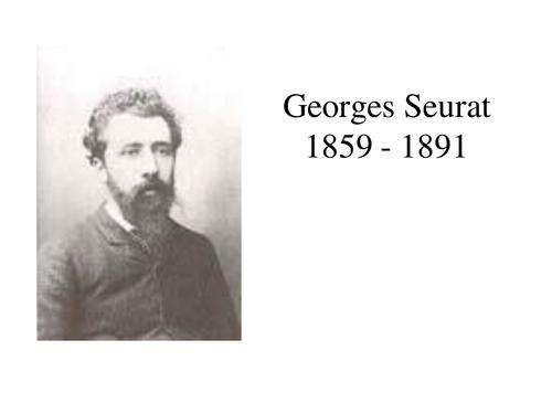 Georges Seurat (Painting & Pointillism)