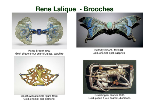 Art and Design Studies - Jewelry