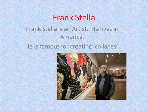 Frank Stella PowerPoint Presentation