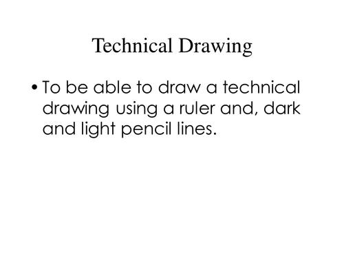 Technical Drawing Presentation
