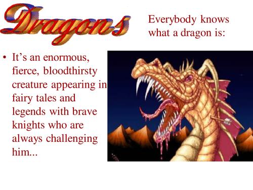Dragons PPT