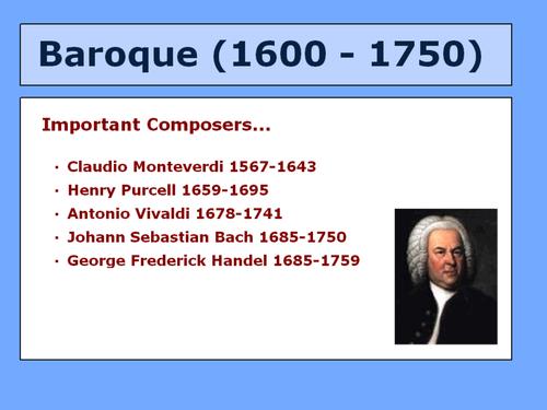 Baroque Period Explained