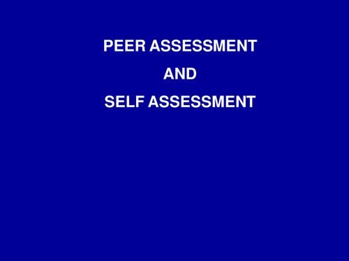 Drawing Peer Assessment