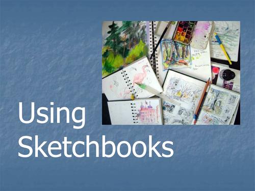 Using sketchbooks