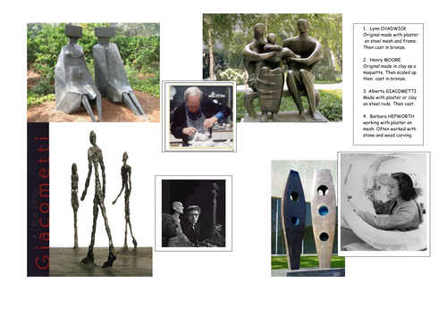 PICASSO AND GABO SCULPTURE PROJECT FILES