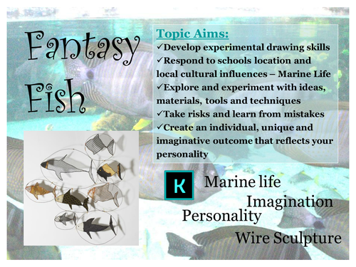 Intro to a Fantasy Fish topic