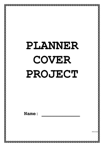 Planner Cover Sewing Project