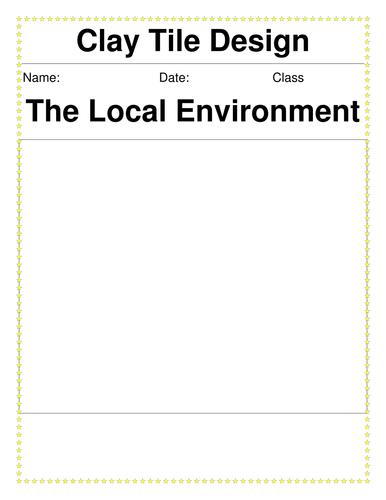 Clay Tile Design Booklet