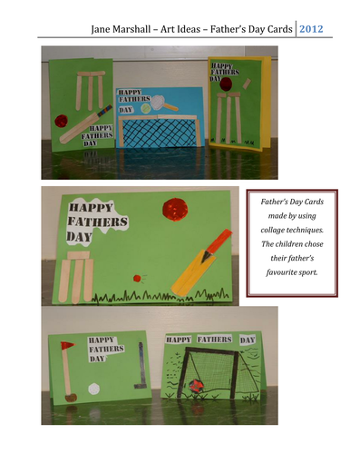 Creating Father's Day Cards