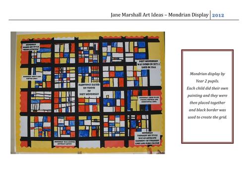 Mondrian Display