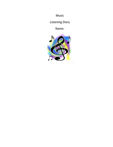General Music Listening Booklet