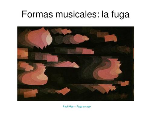 Musical Forms: Fugue