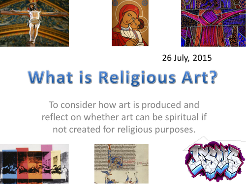 What is religious art?
