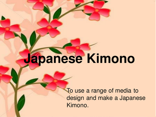 Kimono PowerPoint
