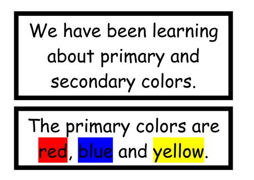 Color wheel display