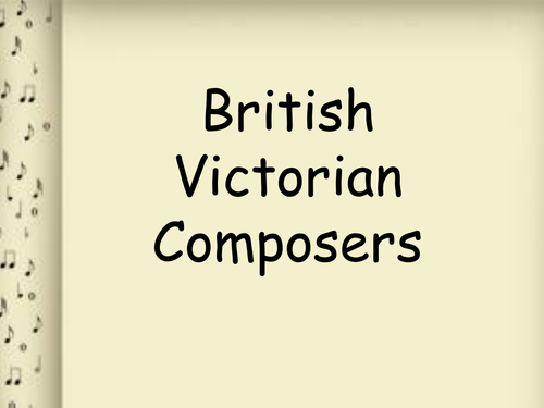 British Victorian Composers