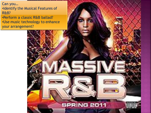 R&B PowerPoint guide