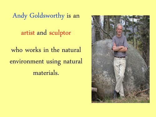 Andy Goldsworthy/Environmental art