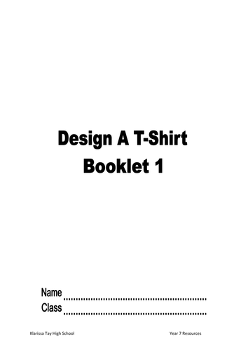 Designing T- Shirts