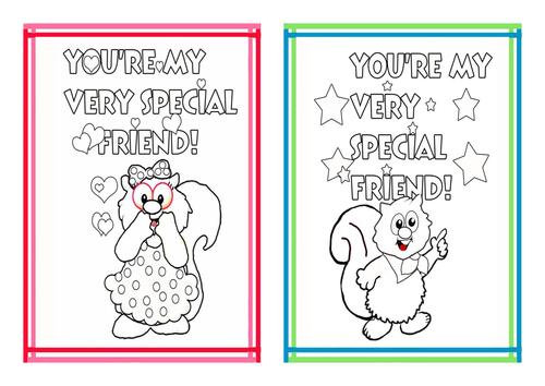Friendship Valentine Cards