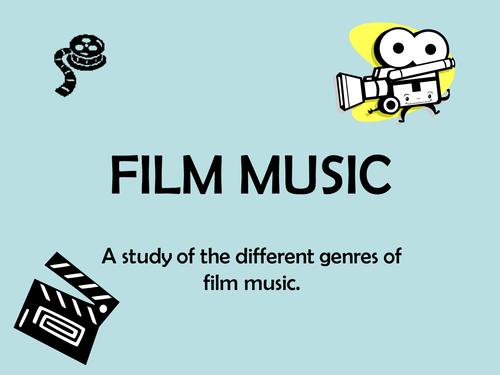 film music slide show