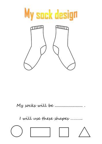 My socks will be
