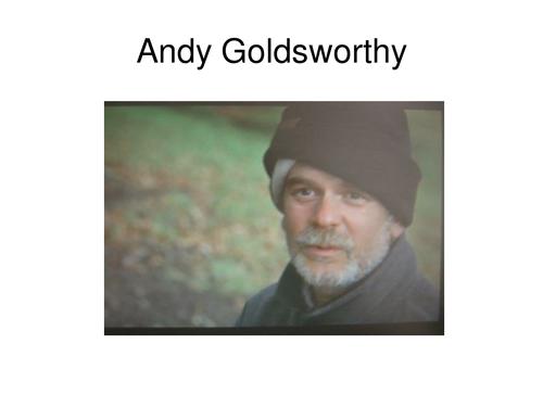 Andy Goldsworthy slideshow