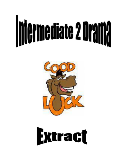 Drama: Extract Booklet