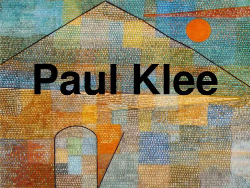 Paul Klee - Senecio (Old Man)