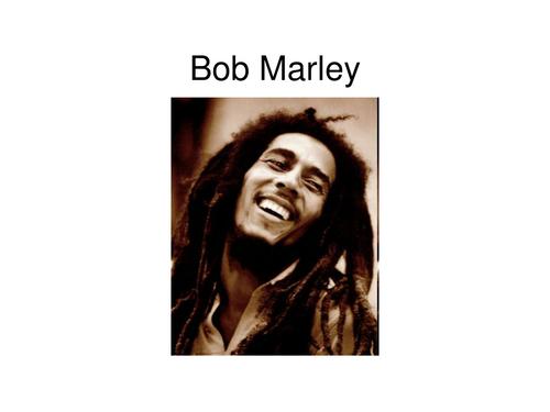 PowerPoint about Bob Marley/Reggae Music
