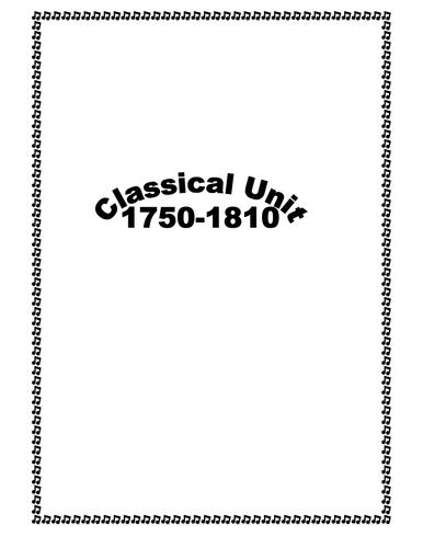 Classical Music lessonplan