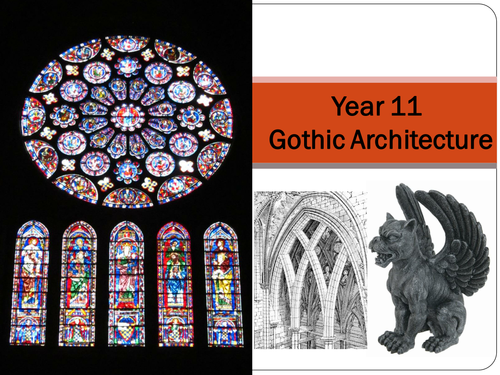 Gothic architecture; drawing; design
