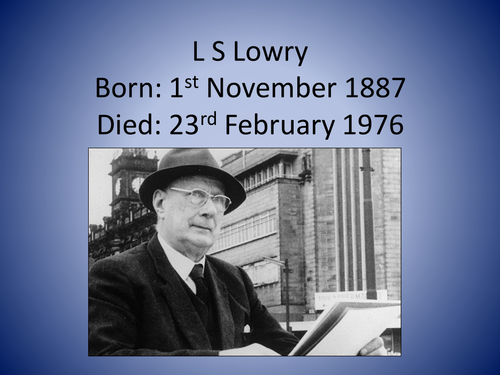 L.S. Lowry (Analyzing Paintings)