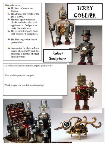 Design / draw a Robot
