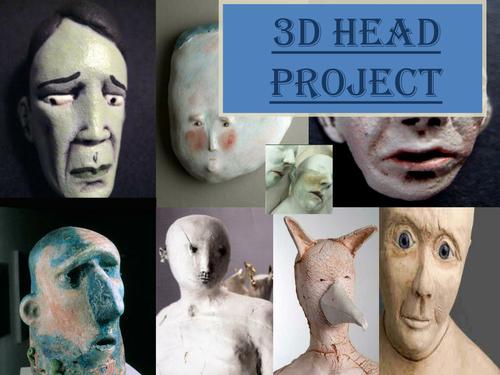 3D HEADS/ SCULPTURES