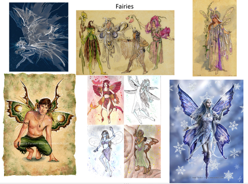 Dragons and Fairies