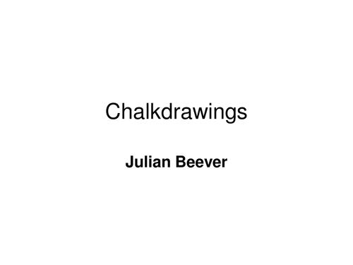 Chalkdrawing 3D