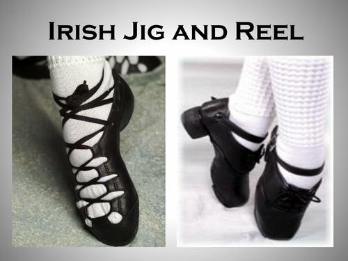 Irish Dancing Presentation