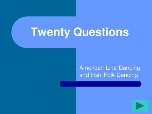 Line Dancing Quiz